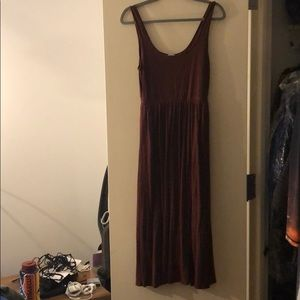 Aritzia Assonance M Dress Maroon (last call!!)